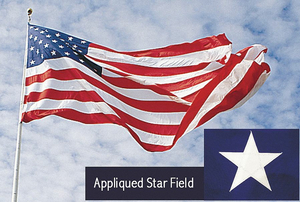 US FLAG 30X60 FT POLYESTER by Annin Flagmakers