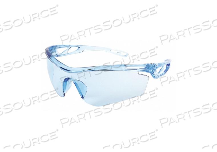 SAFETY GLASS LIGHT BLUE LENS HALF-FRAME by MCR Safety