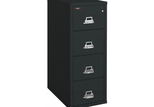 VERTICAL FILE 4 DRAWER LEGAL by Fire King