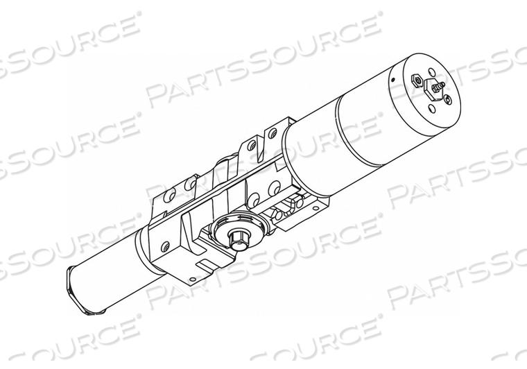 PNEUMATIC DOOR OPERATOR SLVR 22-3/4INL by LCN
