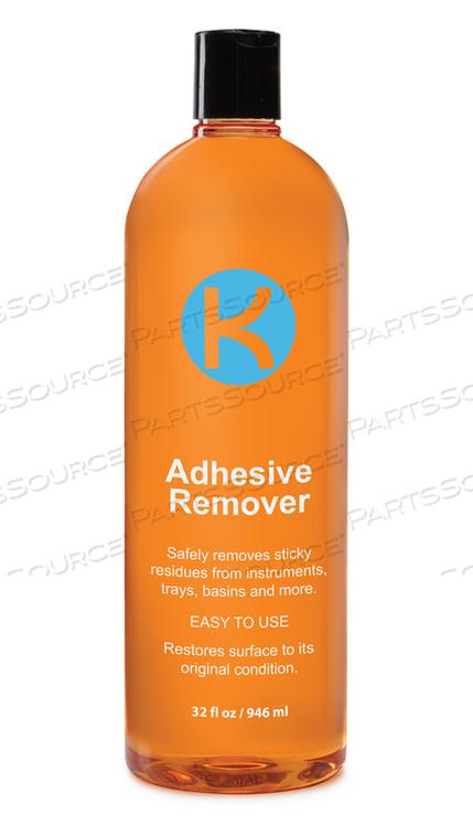 ADHESIVE REMOVER, 32 OZ, BOTTLE, ORANGE, LIQUID, CITRUS, 48 DEG C, 0.814 G/CC, <20% by Key Surgical