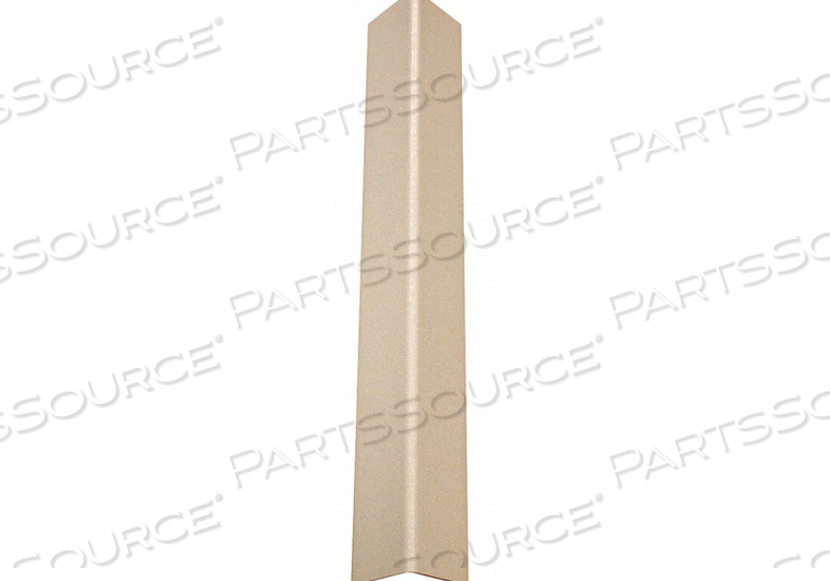 CORNER GUARD TAPED 1-1/2X96 IN. EGGSHELL by Pawling Corp