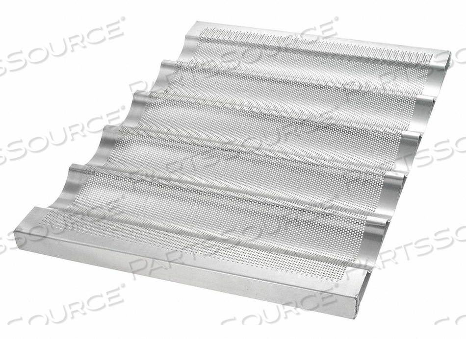 BAGUETTE/FRENCH BREAD PAN 5 MOULDS by Chicago Metallic