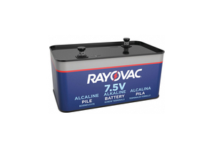 BATTERY FENCE/IGNITION, ALKALINE, 7.5V, 40 AH by Rayovac