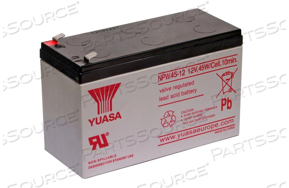 BATTERY UPS, SEALED LEAD ACID, 12V, 9 AH, FASTON (F2) by R&D Batteries, Inc.