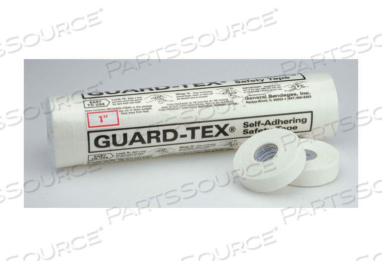 E1699 SAFETY TAPE WHITE 1 IN W 30 YD. L PK12 by Guard-Tex
