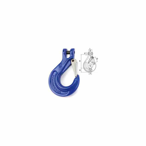 """3/8"""" V10 CLEVIS SLING HOOK WITH LATCH by Peerless Industries, Inc."""