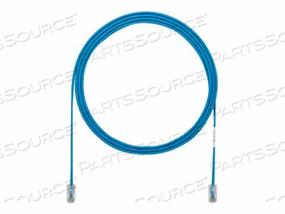 PANDUIT TX5E-28 CATEGORY 5E PERFORMANCE - PATCH CABLE - RJ-45 (M) TO RJ-45 (M) - 8 FT - UTP - CAT 5E - HALOGEN-FREE - BLUE by Panduit