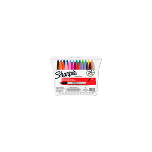 PERMANENT MARKER, FINE, ASSORTED INK, 24/SET by Sharpie