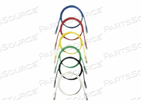 PANDUIT NETKEY - PATCH CABLE - RJ-45 (M) TO RJ-45 (M) - 25 FT - UTP - CAT 6 - IEEE 802.3AF/IEEE 802.3AT/IEEE 802.3BT - BOOTED, SNAGLESS, STRANDED - VIOLET by Panduit