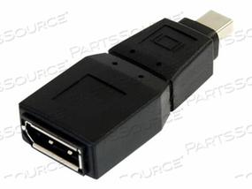 STARTECH.COM MINI DISPLAYPORT TO DISPLAYPORT ADAPTER CONVERTER - M/F - DISPLAYPORT ADAPTER - DISPLAYPORT (F) TO MINI DISPLAYPORT (M) - BLACK - FOR P/N: DP2DVID2, DP2DVIS, DP2HDS