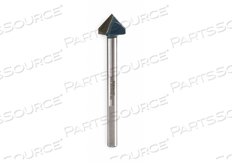 GLASS AND TILE BIT 7/8 IN 4 IN L by Bosch Tools