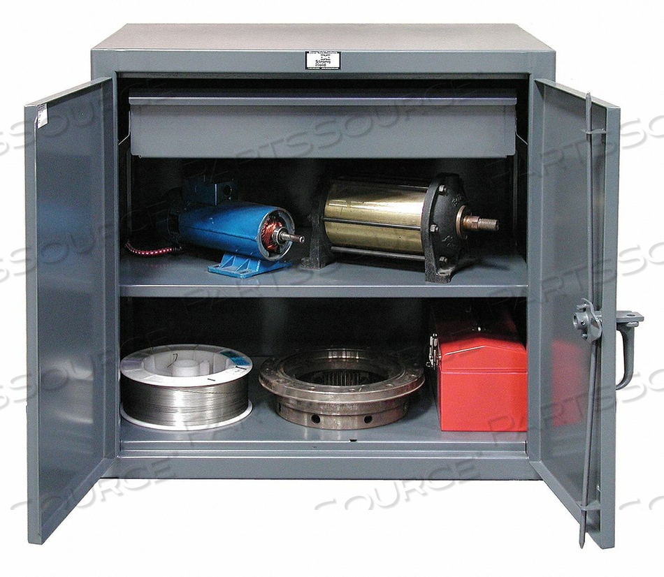 COMBO DRAWER CABINET 42 H 48 W GRAY by Strong Hold