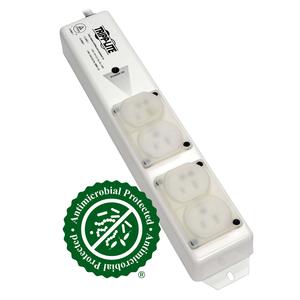 TRIPP LITE POWER STRIP MEDICAL 120V 4 OUTLET UL60601-1 UL60950-1 METAL by Tripp Lite
