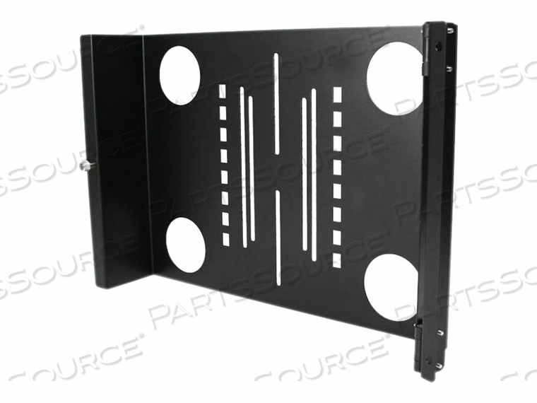 """STARTECH.COM UNIVERSAL SWIVEL VESA LCD MONITOR MOUNTING BRACKET FOR 19IN RACK OR CABINET - BRACKET FOR LCD DISPLAY - SOLID COLD PRESSED STEEL - BLACK - SCREEN SIZE: 19"""" - FOR P/N: 2POSTRACK42, 4POSTRACK25U, 4POSTRACK36, 4POSTRACK42, RK1236BKF, RK2536BKF by StarTech.com Ltd."""