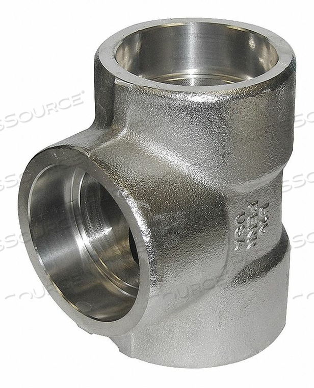 TEE STAINLESS STEEL FSW 2IN. by Penn Machine Works