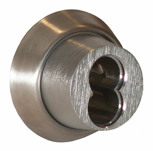 MORTISE CYLINDER SATIN CHROME by Best