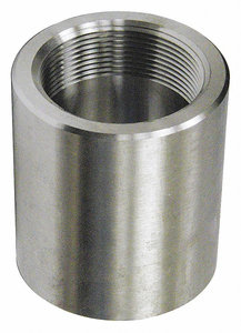 COUPLING STAINLESS STEEL FNPT 1/2IN. by Penn Machine Works