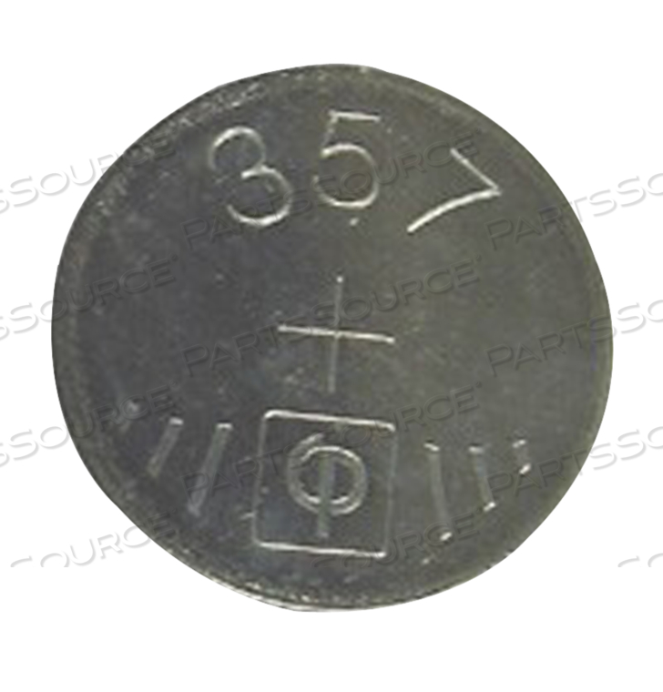 357 SILVER BUTTON CELL BATTERY, S1154