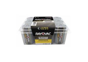 BATTERY, C, ALKALINE, 1.5VDC, 6880 MAH (PACK OF 12) by Rayovac