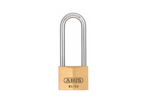 KEYED PADLOCK 1 7/64 IN RECTANGLE GOLD by Abus