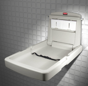 CHANGING STATION VERTICAL 23X34-1/8IN by Rubbermaid Medical Division