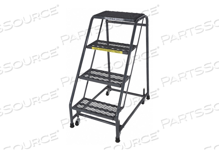 ROLLING LADDER STEEL 38 IN.H by Ballymore