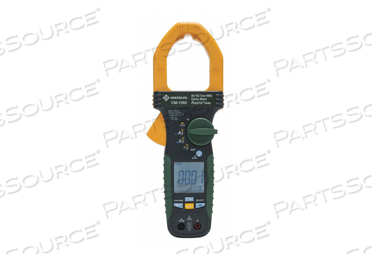 CLAMP METER AC/DC 1000 AMP by Greenlee