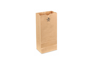 GROCERY BAG BRN 16 L 7-3/4 W PK400 by Duro