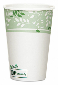 DISPOSABLE HOT CUP 16 OZ. WHITE PK1000 by Dixie