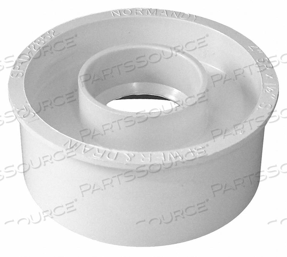 ADAPTER BUSHING PVC 4 IN X 1-1/2 IN. by Genova
