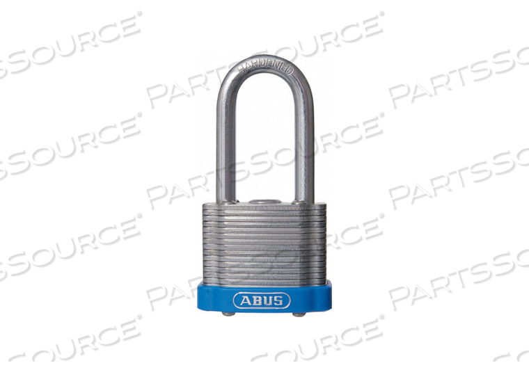 D8957 LOCKOUT PADLOCK KA BLUE 1-3/8 H by Abus