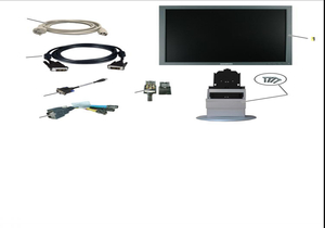 COLOR MONITOR, 50 TO 60 HZ, 1280 X 1024 PIXEL, 100 TO 240 VAC, 19 IN SCREEN by Siemens Medical Solutions