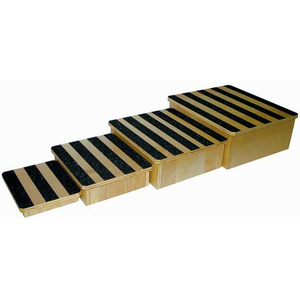 13 X 14 X 4 FOOTSTOOL, NESTABLE WITH SAFETY GRIP by Ideal Products
