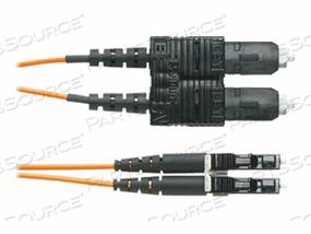 PANDUIT NETKEY - PATCH CABLE - LC SINGLE-MODE (M) TO SC SINGLE-MODE (M) - 30 M - FIBER OPTIC - 9 / 125 MICRON - OS2 - HALOGEN-FREE, RISER - YELLOW by Panduit