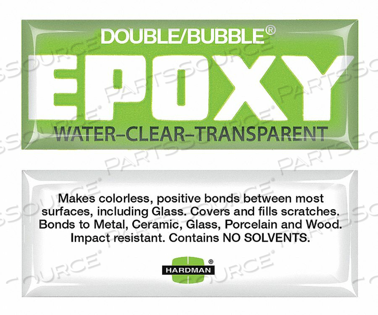EPOXY WATER CLEAR 3.5G PK10 by Hardman