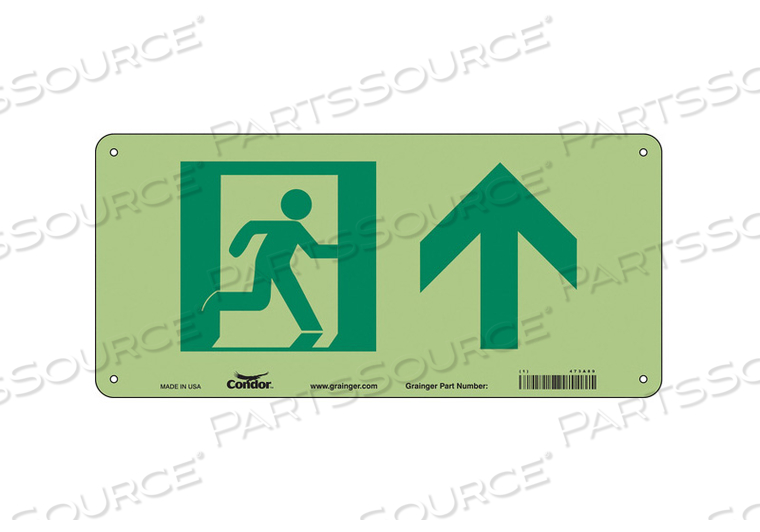 SAFETY SIGN 15 W 7 H 0.040 THICKNESS by Condor