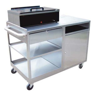 STAINLESS SPLINTING WORKSTATION, STAINLESS STEEL by Ideal Products