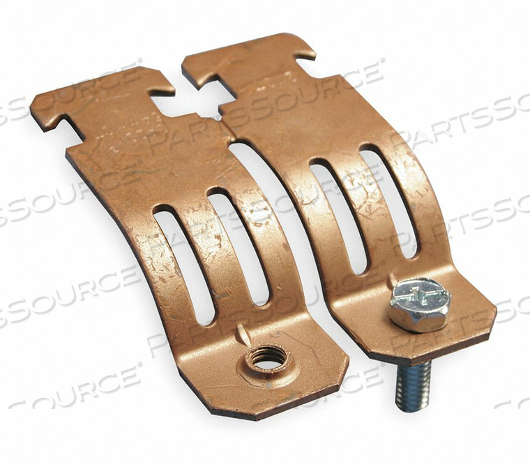 COPPER TUBING STRUT CLAMP SIZE 1 1/4 IN by Nvent Caddy
