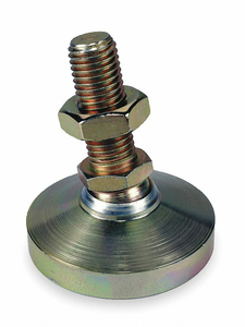 LEVEL PAD FIXED STUD 5/8-11 2-1/2IN BASE by Te-Co