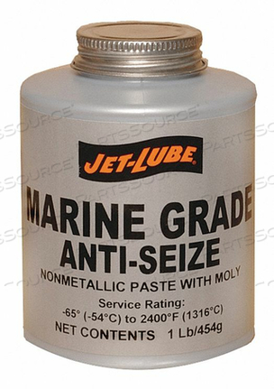 ANTI SEIZE COMPOUND MARINE 16 OZ CAN by Jet-Lube