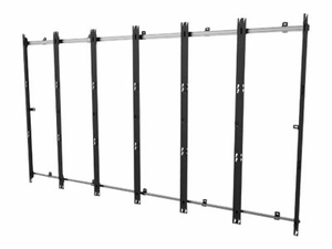 PEERLESS-AV - WALL MOUNT FOR 6X3 VIDEO WALL (LOW PROFILE) - ALUMINUM - FOR SAMSUNG IF015H by Peerless Industries, Inc.
