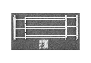 WINDOW SECURITY GUARD THREE BAR by John Sterling