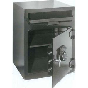 "MAIL BOX DROP SAFE 20-1/2""W X 20""D X 26-1/2""H ELECTRONIC LOCK 3.01 CU. FT. BLACK by Fire King"