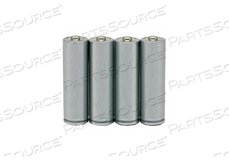 BATTERY, AA, ALKALINE, 1.5VDC, 2620 MAH (PACK OF 4) by Ability One
