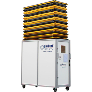 BIO CART 10 HEPA MOBILE DUST CONTAINMENT UNIT by Aircare