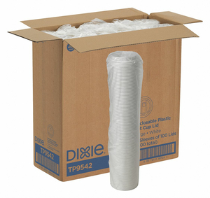 HOT CUP LID DOME 12 TO 20 FL. OZ. PK1000 by Dixie