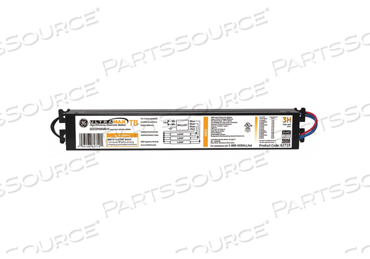 ELECTRONIC BALLAST T8 LAMPS 480V by GE Lighting