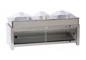 BUFFET SERVER W/ WARMING CABINET 3 PANS by Cadco