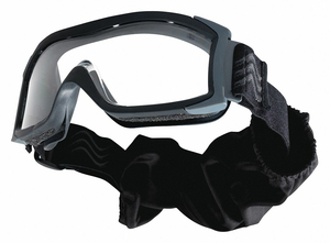 BALLISTIC GOGGLES BLACK POLYCARBONATE by Bolle Safety